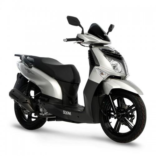 Аренда скутера SYM HD EVO 125 см3 в городе Валенсия, Испания.