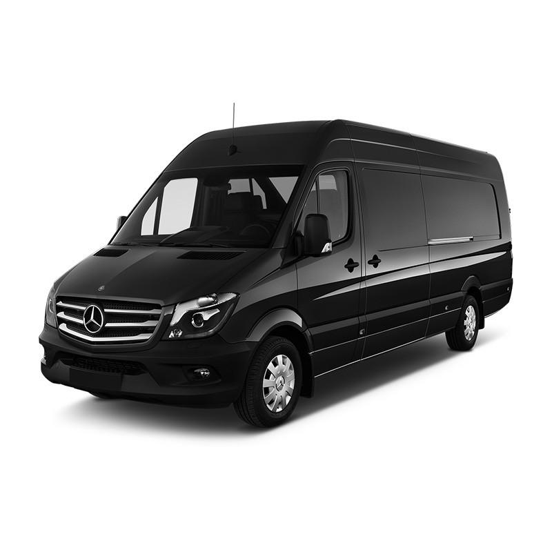 Прокат микроавтобуса Mercedes Sprinter в городе Валенсия.