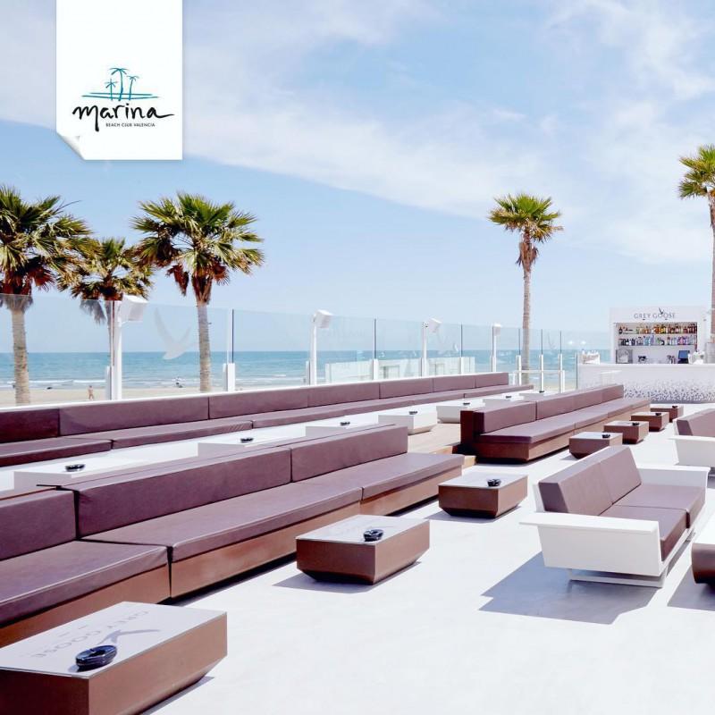 Marina beach club valencia